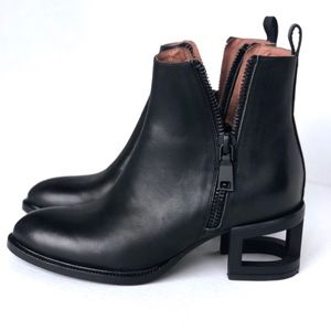 Jeffrey Campbell boone MH black matte leather